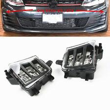 Bumper Lower LED Fog Lamp Light Fit For VW GTI(Golf) GTD 7 VII 5G 14-16 One Pair