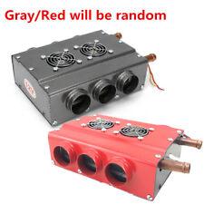 Universal Heater Double Side Iron Compact Heater Heat Fan w/Speed Switch Set 12V
