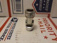 "Vtg Snap On Tools FS-10-A 5/16"" Universal Joint Flex Elbow Socket 3/8"" Drive 6Pt"