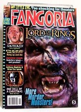 """""""FANGORIA"""" Magazine Issue #218 (Nov, 2002) LORD OF THE RINGS, RED DRAGON & more"""