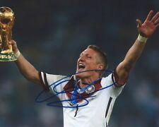 Bastian Schweinsteiger Signed 8x10 Photo Germany FIFA World Cup Autograph COA