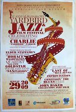 JAZZ POSTER: 1st Annual KANSAS CITY YARDBIRD JAZZ & FILM FESTIVAL Charlie Parker