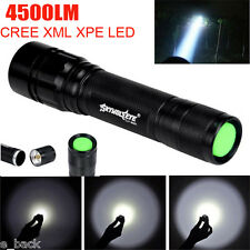 Super Bright 4500 Lumens 3 Modes CREE XML T6 LED 18650 Flashlight Torch Lamp New