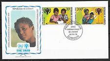 UNICEF/ Dschibuti MiNr 241/42 FDC