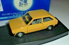 car 1/43 SCALE CARR 80702 FORD FIESTA MK1 3doors 1976 YELLOW NEW BOX