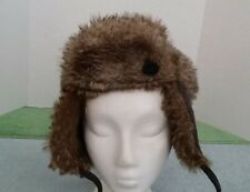 Nobis Faux Fur Valkyrie Hat Winter Brown (Russian Style) Women's Fashion  Canada