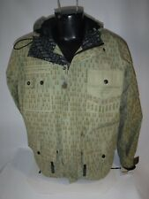 #8186 GRENADE FATIGUE PROJECT SKI SNOWBOARD SHELL JACKET MEN'S SMALL USED