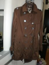 Burberry LONDON LIGHTWEIGHT LADY TRENCH RAIN COAT SZ 6 & A REMOVABLE WARM JACKET