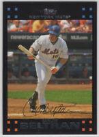 2007 Topps Baseball New York Mets Team Set