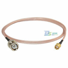 3ft RG316 BNC Male to RP-SMA Male Plug Adapter RF Coaxial Antenna Jumper Cable