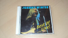 CD  JOHNNY WINTER best of... live
