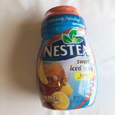 Nestea Lemon Sweet Iced Tea Mix Instant Powdered 45oz New Sealed Best By 6/2019