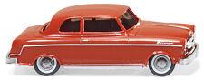 Wiking Ho 1:87 018501 Borgward Isabella saloon - 1954 - red - New