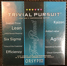 {New}Trivial Pursuit:LEAN & IT Performance Edition by ORSYP