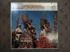 "Tchaikovsky/ Rimsky-Korsakoff: Capriccio Italien 12"" Vinyl, LP M-, Cover VG+"