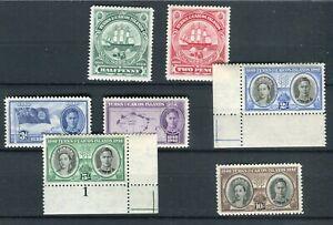 Turks & Caicos KGVI 1948 Centenary issue SG210/16 MNH