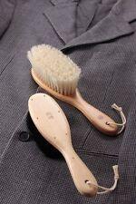 "Edoya Japan Hand Made Deluxe Clothing Bristle Brush ""Bessen""- Pig Hair F/S"