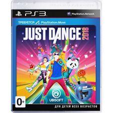 *NEW* Just Dance 2018 (PS3, 2017) English,Russian,German,French,Spanish,Por,Ita