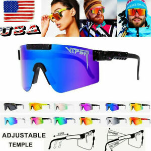 Men/Women PIT VIPER Sport Cycling Polarized Sunglasses UV400 Goggles Outdoor
