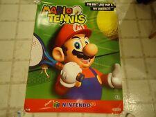 Mario Tennis Nintendo 64 N64 Store Display Promo Poster RARE! *4 Feet Tall*