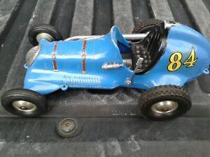 Original Roy Cox THIMBLE DROME CHAMPION #84 Tether Race Car Looks Great