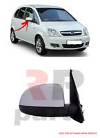 Pour Opel Meriva 03-10 Rétroviseur Électrique 5 Broche Pour Peinture Droit LHD