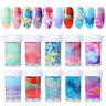 Nagelfolien Nagelfolie Aufkleber Nail Foils Transfer Decals Nail Art Dekoration