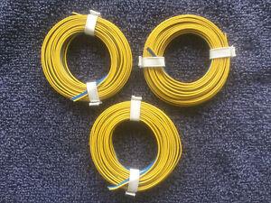 Triple Wire Blue - Blue - Yellow 3 x 0.14 mm² 5 meters ( MARKLIN / MAERKLIN )
