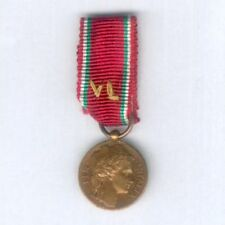 ITALY. Miniature Medal of Merit for Crossing Enemy Lines after 8 September 1943