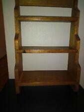 Solid Wooden Wall Shelf, 21 x 14,Estate Find,Vintage