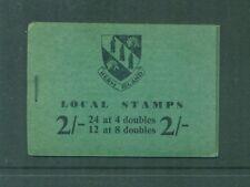 Herm Island 2sh Left Staple Margin  Booklet