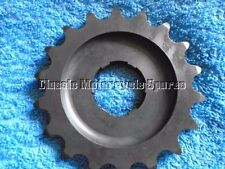 BURMAN GEARBOX SPROCKET, SMALL SPLINE. AJS MATCHLESS ETC. MADE IN ENGLAND