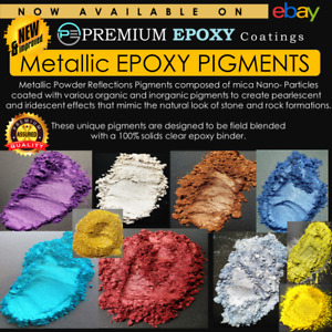 Epoxy Resin Metallic Pigments 5 Grams - High Quality - Available Different Sizes