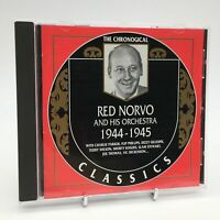 RED NORVO AND HIS ORCHESTRA 1944-1945 Rare The Chronogical Classics CD Album VGC