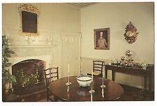 DINING ROOM KENMORE Lewis G. Washington Fredericksburg Virginia Postcard VA