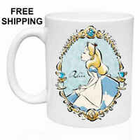 Alice in wonderland, Birthday, Christmas Gift, White Mug 11 oz, Coffee/Tea