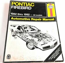 Haynes Repair Manual: Pontiac Firebird 1982 Thru 1992 ALL Models - 79019 (867)