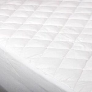Quilted Mattress Protector Fitted Single Double King Size