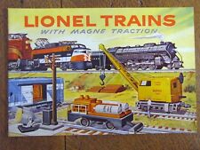 1956 LIONEL CONSUMER TRAIN CATALOG - NEW OLD STOCK - MINT - EXCELLENT CONDITION