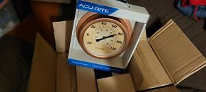 🌡[WHOLESALE LOT OF 6] ACURITE Copper Finish Indoor/Outdoor Thermometer Case Pac