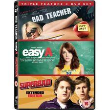 Bad Teacher / Easy A / Superbad Triple DVD Box Set