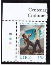 Ireland MNH 2009 Writer John Milington Synge , Books mint stamp cylinder