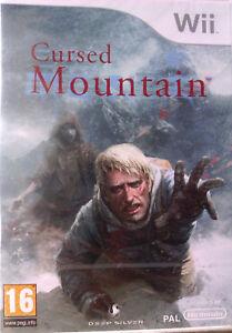 "JEU NINTENDO WII ""Cursed Mountain"" Deep Silver NEUF SOUS BLISTER"