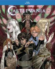Castlevania Season 3 Bluray Region A with slipcover--------2020