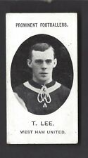 TADDY - PROMINENT FOOTBALLERS (NO FOOTNOTE) - T LEE, WEST HAM UNITED