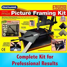 Charnwood PFK04 Picture Frame Making Assembly Kit hanging corner underpin mitre