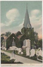 Stoke Pogis Church, F.G.O. Stuart 840 Postcard B815