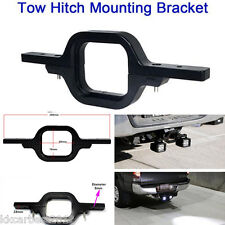 Car Offroad Tow Hitch Mount Bracket Dual LED Holder Back-up Reverse Search Light