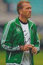 ANDREAS KÖPKE DFB EM WM 2014 2018 1996 Foto 13x18 signiert IN PERSON Autogramm