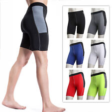 Mens Pro Tight Pants Sports Gym Running Yoga Skinny Fitness Shorts